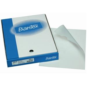 Chartek Bantex uden huller A4 hvid æske 100 stk