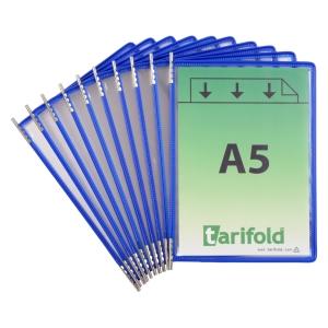 Lommer Tarifold t-technic, A5, blå