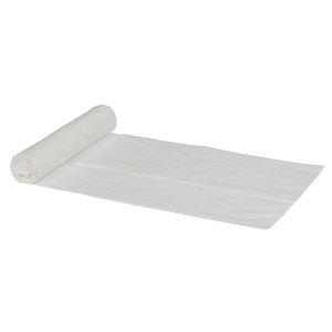 Plastposer ld 37 x 50 cm hvid -  rulle a 30 stk plastposer