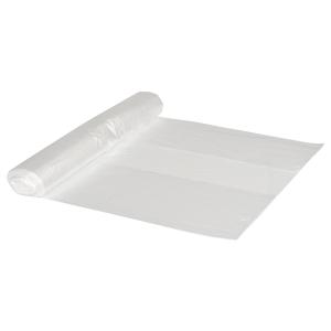 Plastposer hd 65 x 70 cm klar - rulle a 50 stk plastposer