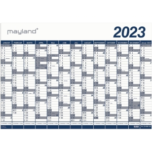CALENDAR MAYLAND 0650 00 WALL CALENDAR BIG 13 MONTH NEXT YEAR 100X70 CM PP