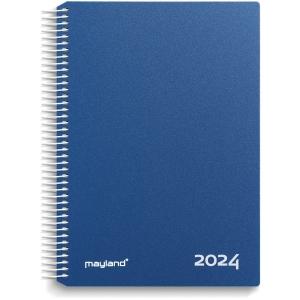 KALENDER MAYLAND 2180 20 TIMEKALENDER 2020 1 DAG PVC-FRI PP BLÅ