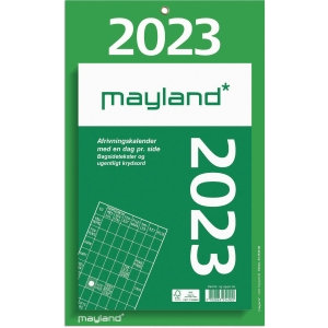 CALENDAR MAYLAND 2540 00 WALL CALENDAR BIG TEAR-OFF 17X24 CM