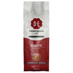Filterkaffe Douwe Egberts Classic, 500 g