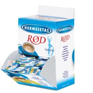 Sødetabletter Hermesetas sødemiddel karton a 1000 stk x 2 tabletter