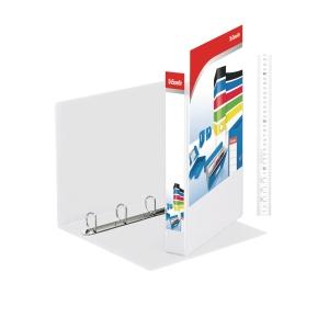 ESSELTE A4 WHITE 4D-RING PRESENTATION BINDER 25MM