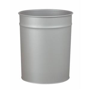 Papirkurv Twinco, metal, 20 L, aluminiumsgrå