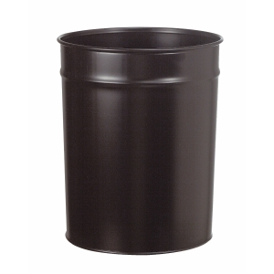 Papirkurv Twinco, metal, 20 L, sort