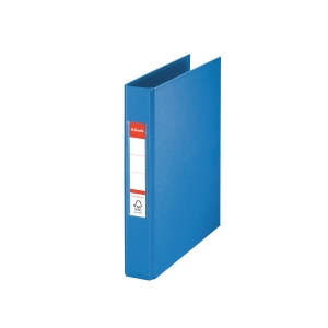 2-RING BINDER A5 35MM BLUE