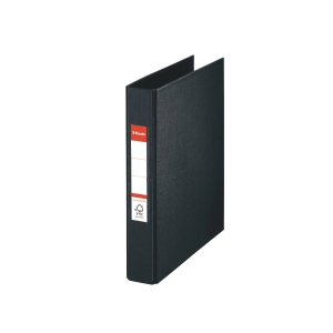 2-RING BINDER A5 35MM BLACK