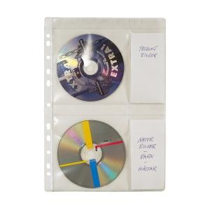 4-CD POCKET A4 PP/PLASTIC