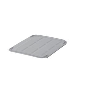 Låg til plastkasse 40 x 30 cm grå