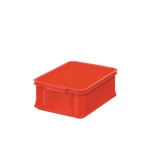 Opbevaringskasse, 13 L, 14,7 x 30 x 40 cm, plast, rød