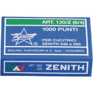 Hæfteklammer Zenith  130-Z , æske a 1.000 stk.