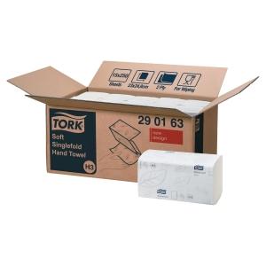 Håndklædeark Tork H3 Advanced Zig-Zag karton a 15 pakker