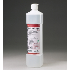Rengøringsmiddel Diversey Sani 100 Free - sanitet 1 liter