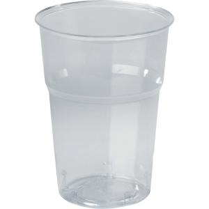 Plastglas drikkeglas 39 cl pose a 50 stk