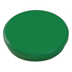 Magnet Dahle, rund, 32 mm, grøn, pakke a 10 stk.