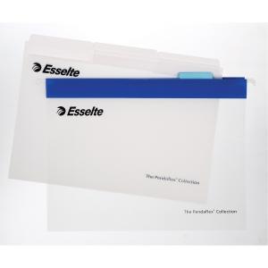 Hængemappe Esselte Easyview A4 blå æske a 10 stk
