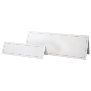 Bordnavnekort Durable, 6,1 x 21 cm, pose a 100 stk.