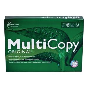 Multifunktionspapir MultiCopy Original A4 75 g kasse med 5 pakker a 500 ark