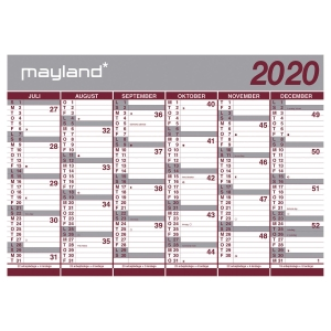 Kæmpekalender Mayland 8075 00 (rør)