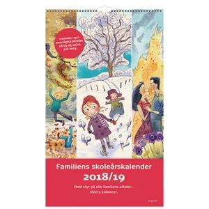 SKOLEKALENDER MAYLAND 8078 00 FAMILIE 24 X 35 CM