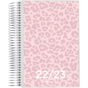 Studiekalender Mayland 8041 00 stor med klap og 4 illustrationer
