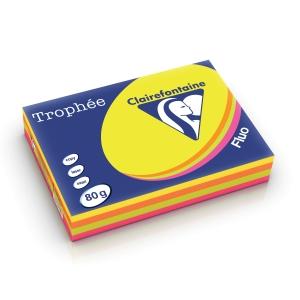 RM500 TROPHEE 1705 PAP A4 80G ASS FLUO