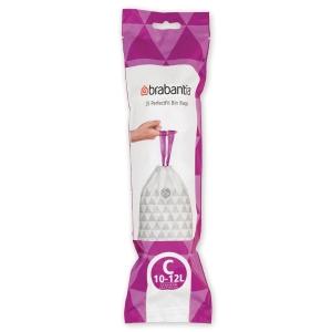 Affaldsposer Brabantia Smartfix 12 liter - rulle a 20 poser (model c)