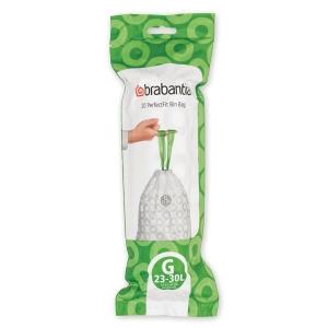 Affaldsposer Brabantia Smartfix 30 liter - rulle a 20 poser (model g)