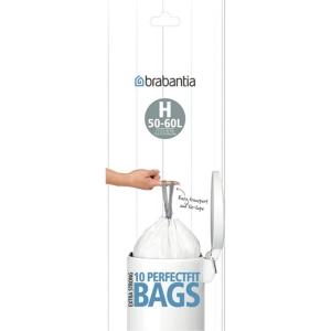 Affaldsposer Brabantia Smartfix 50 liter - rulle a 10 poser (model h)