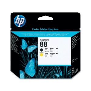 Printhoved HP 88 C9381A 1.200 sider sort/gul