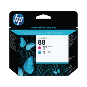 Printhoved HP 88 C9382A 1.200 sider magenta/cyan