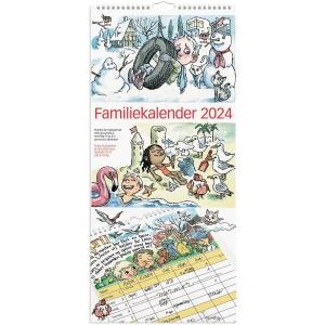 Familiekalender Mayland 0661 00, måned, 2020, 6 kolonner, 23 x 50 cm