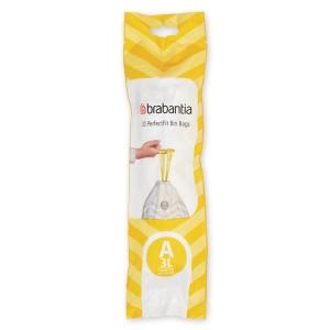 Affaldsposer Brabantia Smartfix 3 liter - rulle a 20 poser (model a)