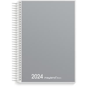 KALENDER MAYLAND 2650 00 BASIC SPIRALKALENDER 1 DAG EN FARVE 12X17 CM