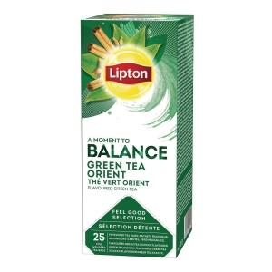 Te Lipton  grøn orient pakke a 25 teabreve
