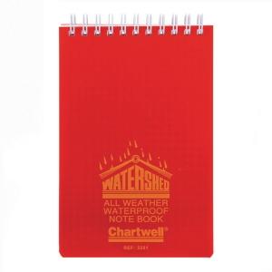 Notesblok Chartwell, vandafvisende, linjeret,