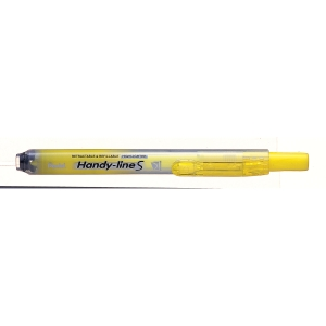 Highlighter med tryk Pentel SXS15-go gul