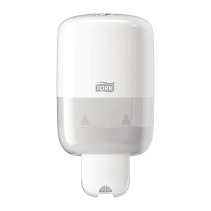 Dispenser Tork S2 til sæbe Mini hvid