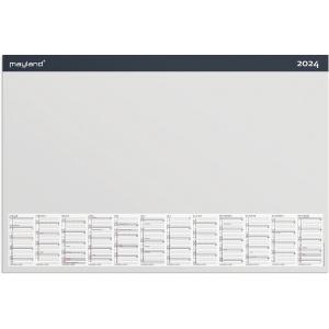 KALENDER MAYLAND 1370 00 SKRIVEUNDERLAG MED MÅNEDSPLAN 60X40 CM