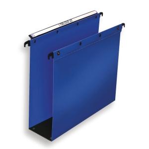 Hængemappe Elba ultimate 8 cm bund A4 blå pakke a 10 stk