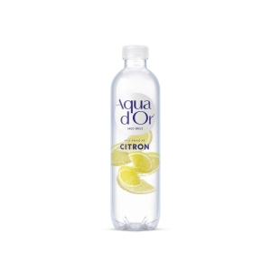 Danskvand Aqua D or Blid Brus, citron og lime, 500 ml, pakke a 12 flasker