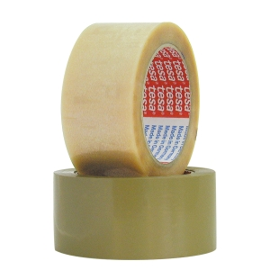 TESA 4124 PACK/TAPE 38MMX66M CLEAR