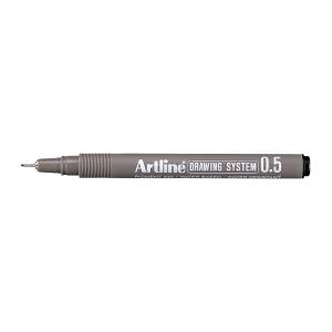 Fineliner Artline Drawing Pen EK235, 0,5 mm, sort
