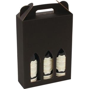 WINE BOX F/3BOTTLES NATURE