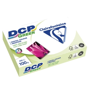 Genbrugspapir til farveprint DCP A4 100g pakke a 500 ark