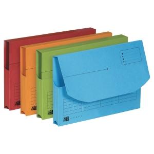 Dokumentmappe Elba assorterede farver pakke a 25 stk