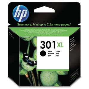 HP 301XL CH563EE INKJET PRINT CARTRIDGE HIGH YIELD BLACK